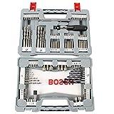 Bosch Premium X-Line Juego de brocas 24 pieza(s) - Brocas (Taladro, Juego de brocas, Concreto, Metal, Madera, 3-10, 2-6, Gris, Acero inoxidable)