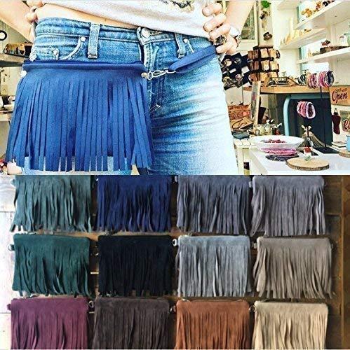 Fanny pack Fringe hip bag fanny fringe Large-scale sale beltpack Seasonal Wrap Introduction Cowgirl