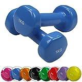 BB Sport 2 x Vinylhantel 0.5 kg - 5 kg Vinyl Hantel Set, Gewicht:2 x 2 kg