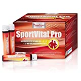 SanaExpert SportVital Pro, energy drink in 30 fiale da 25 ml...