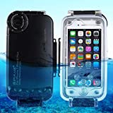 Egurs Underwater Waterproof Tauchhülle für iPhone 7 Plus iPhone 8 Plus, 40m Tiefseetauchhülle,...