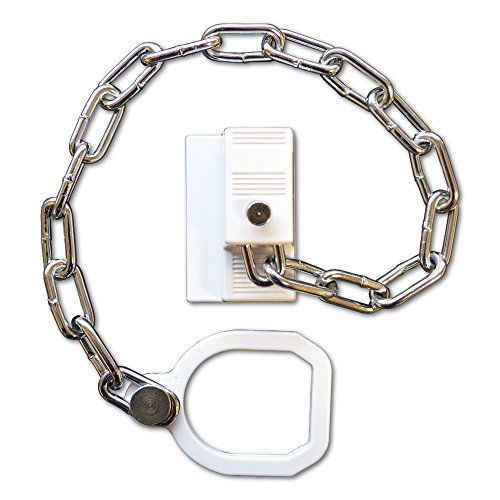 ASEC Sicherheitskette, UPVC, Rechtsseitig, Mit Ring