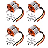 Nine to Nine 4 Pcs A2212 13T 1000KV Outrunner Brushless Motor for DJI F450 F550 MWC Multicopter