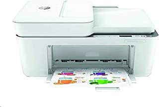 HP DeskJet Plus 4140 All-in-One Printer 8QB70A#B1H (Renewed)