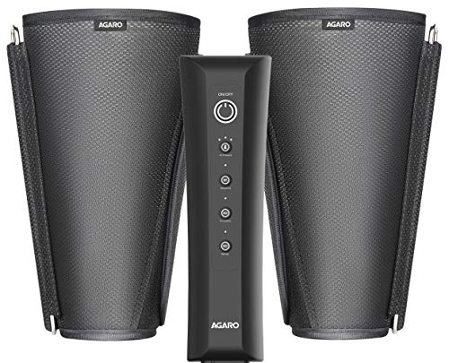 AGARO SMART Air Compression Leg Massager, Foot Calves Massage for Pain Relief and Blood Circulation