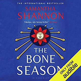 The Bone Season audiobook cover art