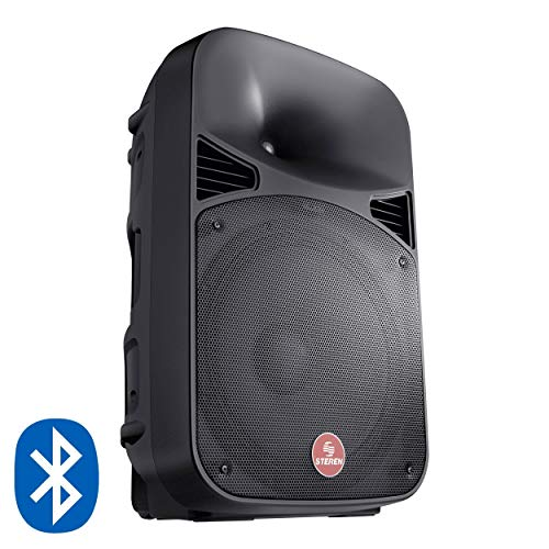 Steren BAF-1545BT Bafle Pro Bluetooth 15' y SD 15'