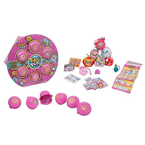 Pikmi Pops Serie 2 Mega Pack 6 Peluches Perfumados Coleccionables y Sorpresas (Giochi Preziosi PKM11010) , color/modelo surtido