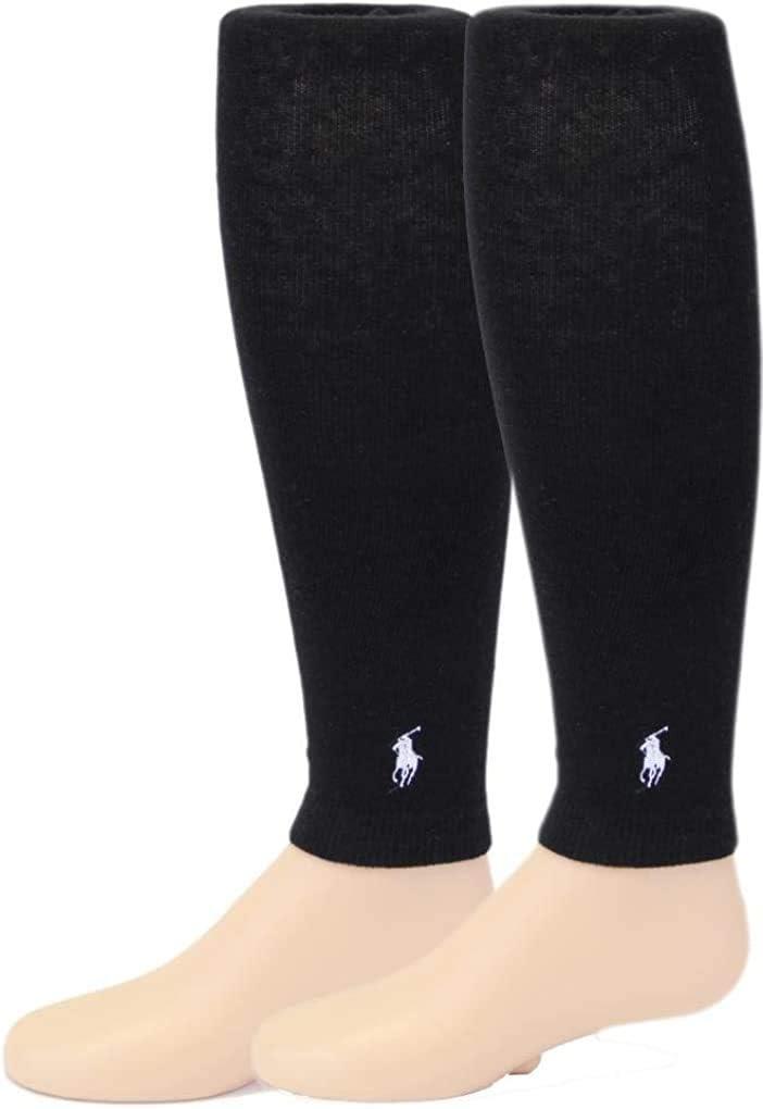 Ralph Lauren Girl's Footless Tights/2 Pairs - Black