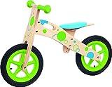 Woodyland Bicicleta de Equilibrio de 85 x 55 cm con Ruedas Bantam