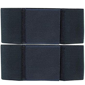 VANGUARD Boot Blousers Military - Blousing Bands - Blouser Straps for Boots – Navy Blue 2 Inch Wide