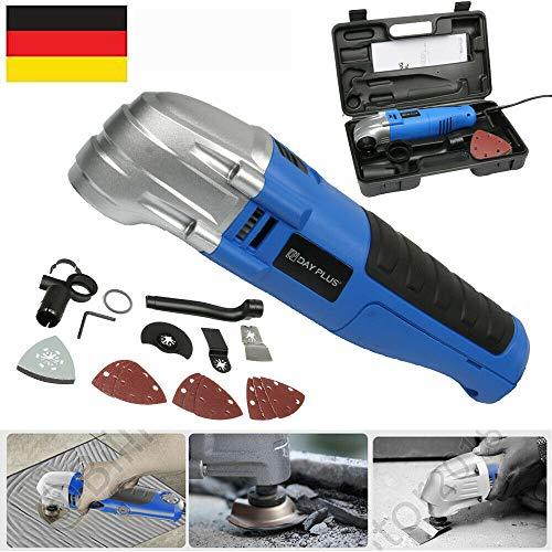 Multifunktionswerkzeug Elektrowerkzeuge Multi Cutter 230V Oszillierwerkzeuge Drehwerkzeug ideal zum Gravieren, Schneiden, Polieren, Schleifen