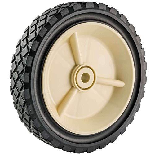 Zelt für Rasenmäher 09259, Polyethylen, Durchmesser 175 mm, Dicke 38 mm, Bohrung 12 mm, Schwarz