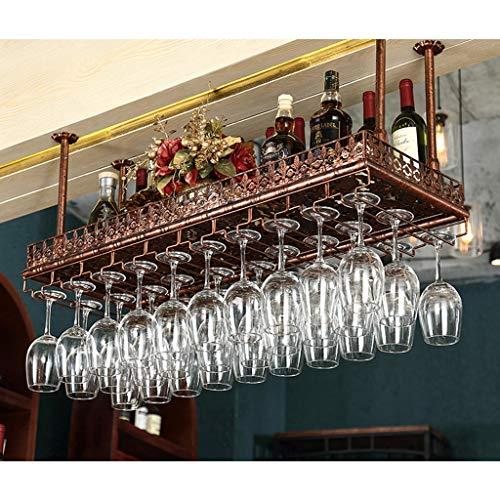 Jinxin wijnrek wijnglashouder Home Bar hoge glazen plank hangen multi-size brons Europese drankhouder