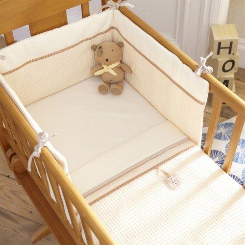Izziwotnot - Set 2 articles pour lit de bébé White Gift