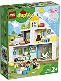 LEGO10929DuploTownCasadeJuegosModular,JuguetedeConstrucción3en1conMiniFigurasyAnimalesparaNiños+2años