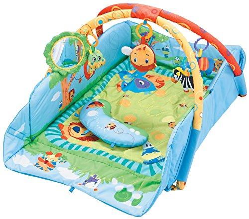 Sun Baby jj8835 Tapis/Parc – Safa rimit Coussin multicolore