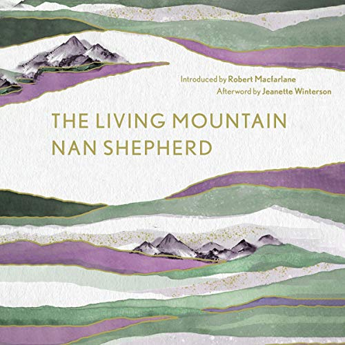 The Living Mountain audiobook cover art