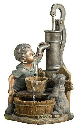 Dehner -   Gartenbrunnen Junge