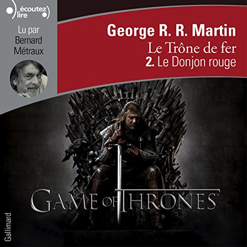 Le Donjon rouge (Le Trône de fer 2) audiobook cover art