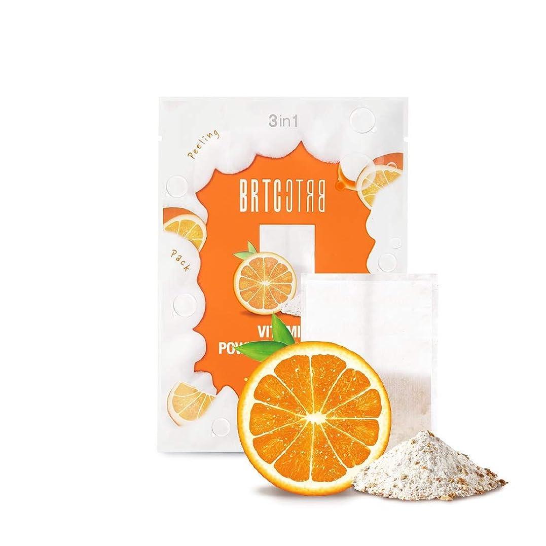 バランスのとれた拳まろやかなBRTC V10ビタミンパウダークレンジングティーバッグ V10 Vitamin Powder Cleansing Tea Bag [MANDARIN&ORANGE] 1.5g * 15ea [並行輸入品]