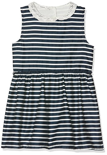 Name It Nmferharia Spencer WL Box Robe, Bleu (Dark Sapphire Stripes:Snow White), 104 Bébé Fille