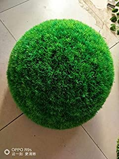 NUTY DESTY Pretty 10-40cm Artificial Grass Topiary Balls Out/Indoor Hanging Ball for Wedding Party DIY Hotel Home Yard Garden Decoration Outdoor Topiary Ball