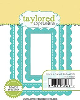 Taylored Expressions Die - Frame in frame 2 Cutting Plate