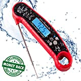 Cooking Thermometer for Grill and BBQ | Candy Thermometer | Waterproof Liquid Thermometer | Improved...