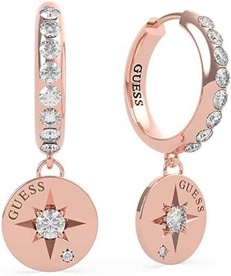 Guess Femme Aucun Type de métal Autre Forme Pas Une Pierre précieuse Boucles d'oreilles UBE20022