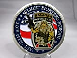 United States Army Ranger Light Fighters School 10th Mountain Division Fort Drum Air Assault Challenge Coin