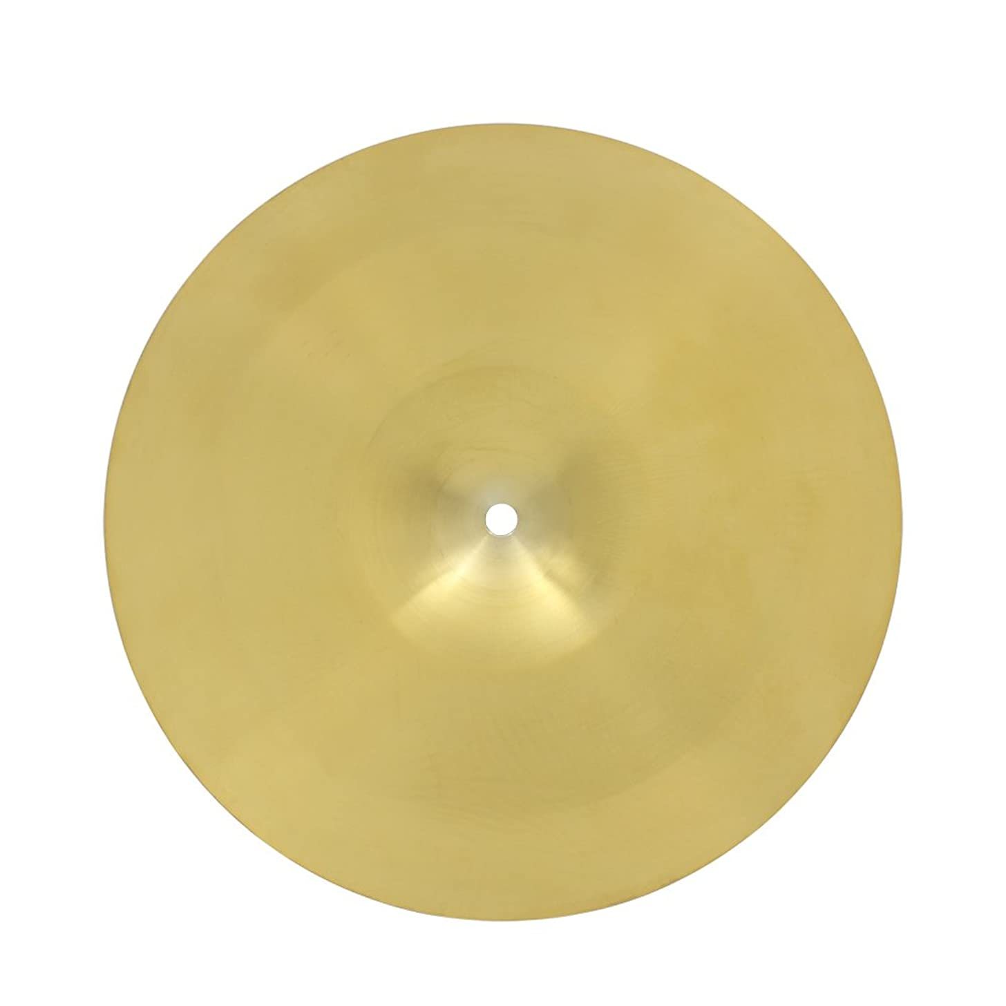 Muslady 8/10/12/14/16/18/20 in/inch Brass Alloy Crash Ride Hi-Hat Cymbal for Drum Set