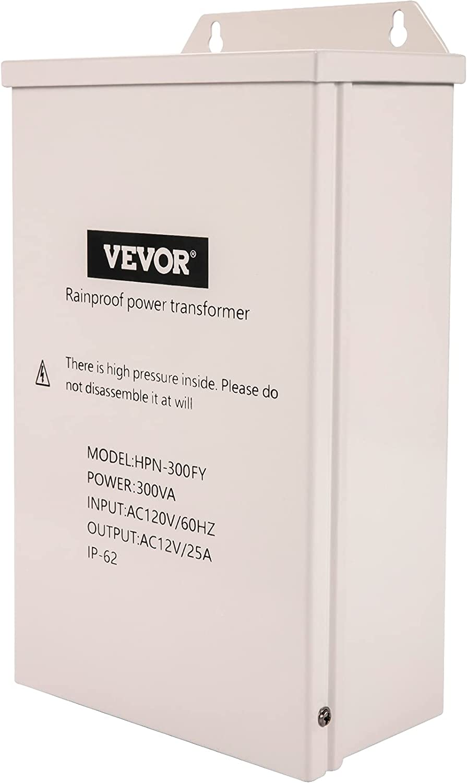 VEVOR Low Voltage Transformer Ranking TOP18 300 Watt Outdoor Landscape Lighti Selling