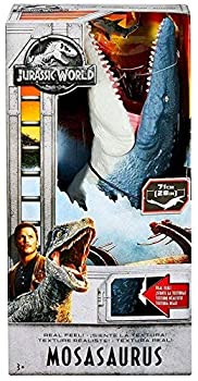 Jurassic World Fallen Kingdom Jurassic World and Jurassic World 2 Real Feel Mosasaurus 28 Inches Touch Its Skin and Real Texture Ages 3+ New