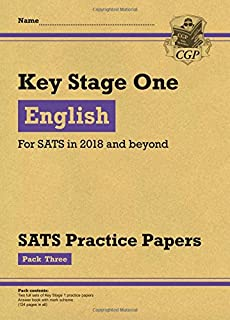 KS1 English SATS Practice Papers: Pack 3 (for the tests in 2018 and beyond)