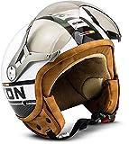 "Soxon SP-325 Plus ""White"" · Jet-Helm · Motorrad-Helm Roller-Helm Scooter-Helm Bobber Mofa-Helm..."