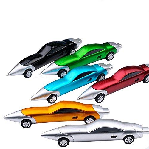 1PCS Cute Cool Racing Auto-Form Personalisierte Werbe Kugelschreiber Büro Schulbedarf Studenten Kinder Geschenk
