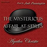Bargain Audio Book - The Mysterious Affair at Styles