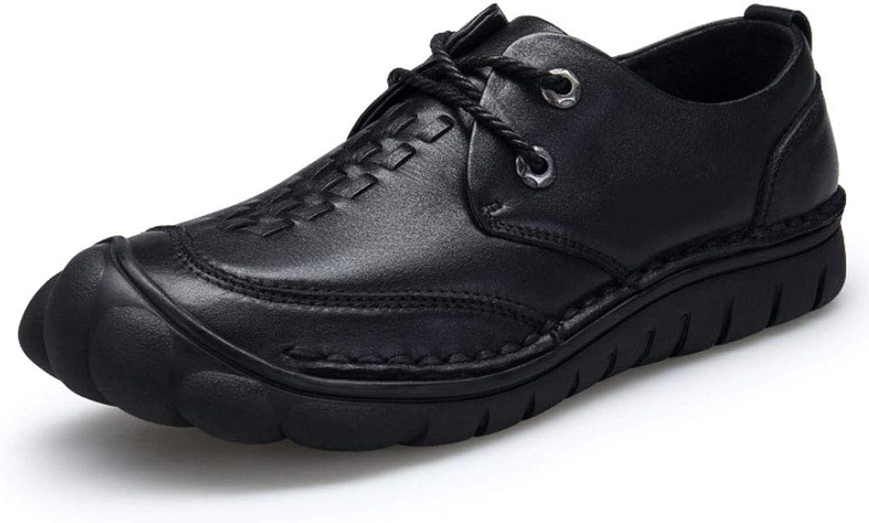 Leather shoes, Men's Business, lace-up shoes, Casual Men's shoes