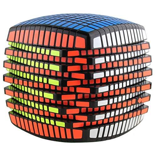 WXXW Speed Cubo,13x13 Magic Puzzle,Stickerless,Velocidad Mágica Suave Fácil De Girar para El Juego De Entrenamiento Mental