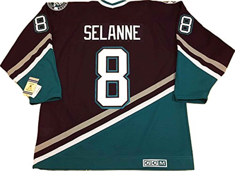 Teemu Selanne Anaheim Mighty Ducks 1997 CCM vintage jersey