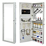 SortWise ® Lockable Door Mounted Jewelry Cosmetic Mirror Cabinet Chest Armoire Wardrobe Storage