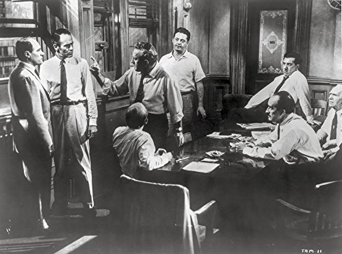Twelve Angry Men Movie Scene in a Room with Men...