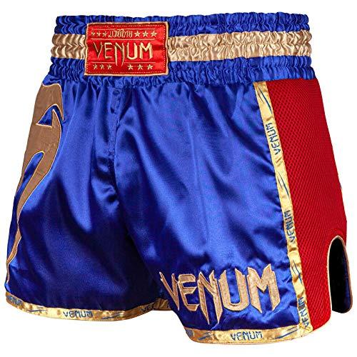 Venum Muay Thai Shorts Giant, Größe:XL, Farbe:Blue/Red/Gold