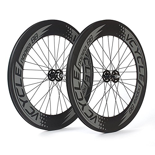 VCYCLE Nopea Carbon Clincher Track Wheelset