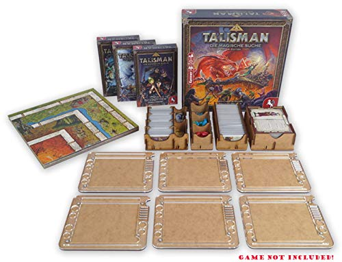 docsmagic.de Insert for Talisman 2019 Box + 6 Player Organizer - Einsatz