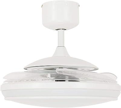 Fanaway Ventilador de Techo LED, Blanco
