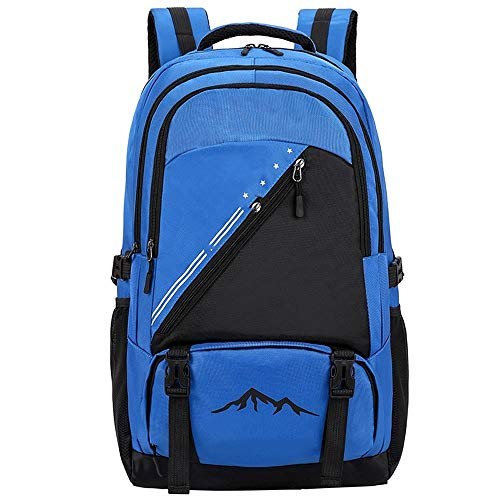 Ange-Y 2020 new large-capacity travel backpack fashion Oxford cloth outdoor backpack hiking outdoor mountaineering bag breathable,wear-resistant,shock-resistant,lighten the burden