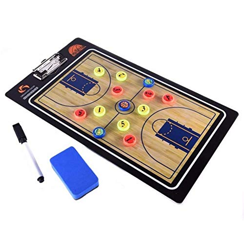 Fantastic Deal! LIJIANGUO Professional Basketball Coaching Board Coaches Clipboard Dry Erase Marker ...