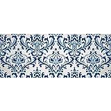 Papel de embalaje de regalo Papel tapiz de brocado de damasco vintage Papel de fondo de vector para cumpleaños, vacaciones, papel de regalo de boda 58'x 23' (1 rollo)